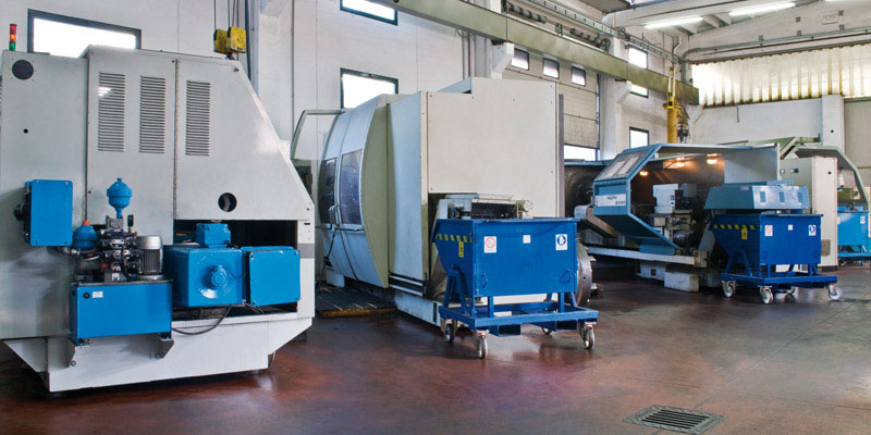 Large Diameters CNC Turning Department