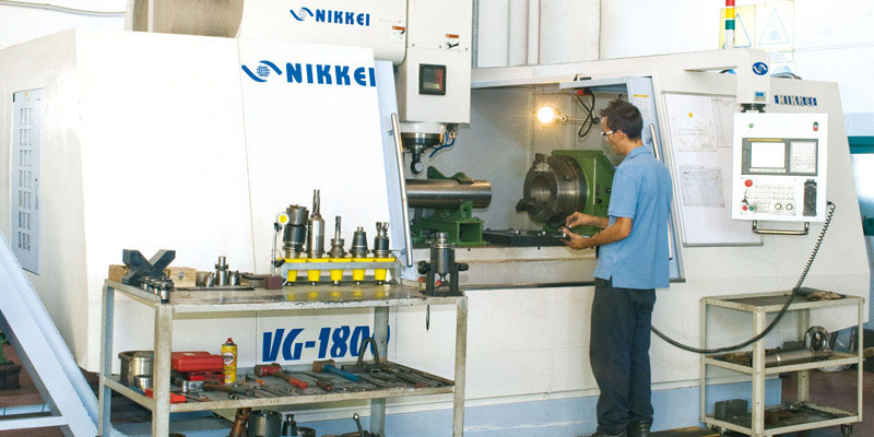 CNC Nikkei Milling Working Center